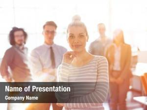 Group of successfull ppt theme
