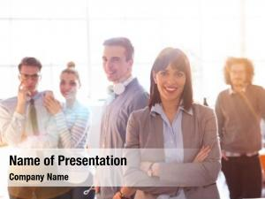 Group of successfull powerpoint background