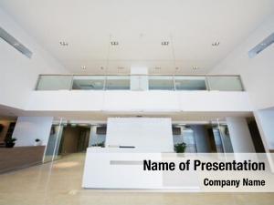 Office empty lobby building