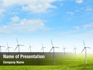 Producing group energy windmills