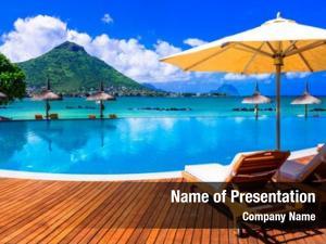 Tropical relaxing holidays paradise mauritius