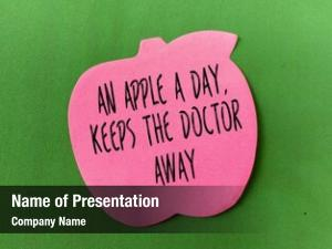 Doctor apple day away