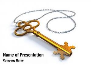 Key vintage gold