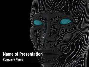 Artificial mind powerpoint template