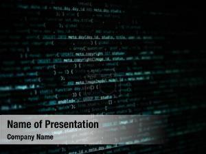 Computer program code screen
