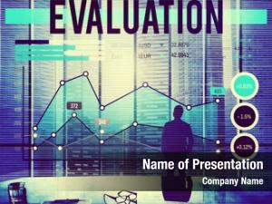 Evaluation business people banner concept