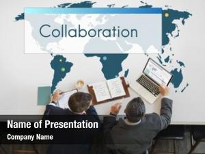 Global marketing powerpoint theme