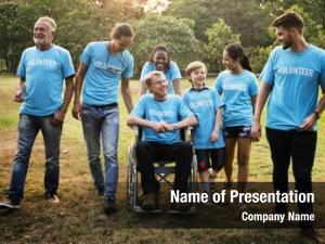 People group diversity volunteer community