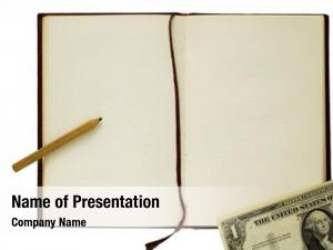Book old blank pencil dollar