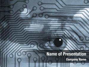 Pattern circuit board overlaid eye