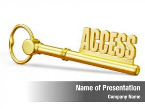 Golden access concept access key