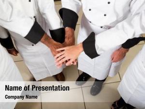Teamwork professional chef
