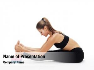 Yoga sport, fitness concept: young