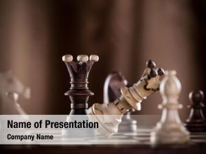 King black chess crashes white