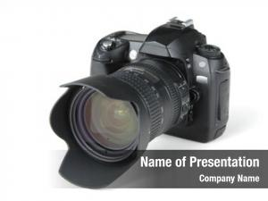 Camera digital photo white