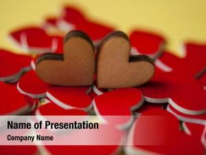 500 Hearts Powerpoint Templates Powerpoint Backgrounds For Hearts Presentation