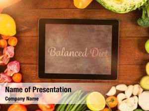 Against balanced diet digital tablet
