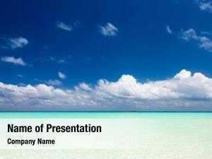 Caribbean tropical beach sea