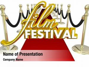 Film festival powerpoint template