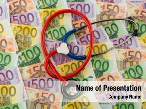 Banknotes stethoscope euro