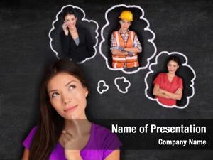 Student career choice thinking choosing