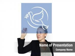 Symbol peace dove pigeon sign