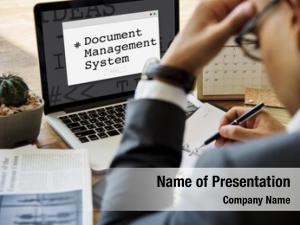 System document management window popup