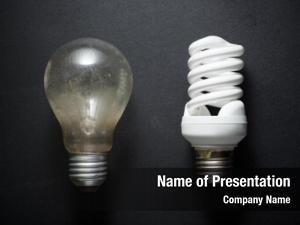 Bulb old incandescent modern bulb