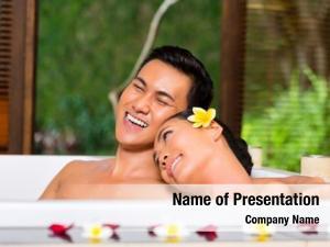 Couple indonesian asian wellness beauty