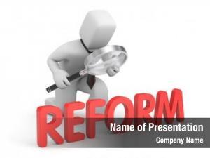 Reform businessman studies