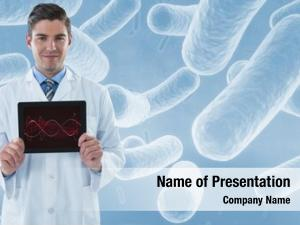 Portrait digital composite male doctor