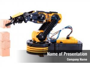 Industrial plastic model robot arm
