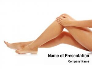 Sore woman holding knee