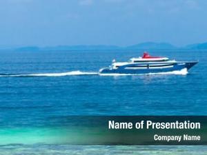 Boat sailing yacht sea