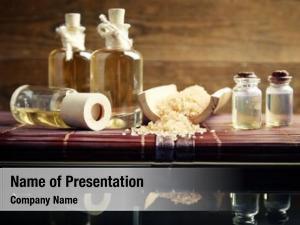 Oil massage aroma sea salt