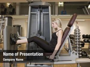 Her girl exercing legs health