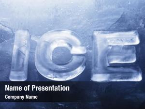 Made word ice real ice