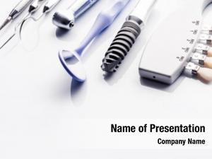 Equipment dental surgery white table