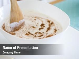 Almond making homemade milk, add