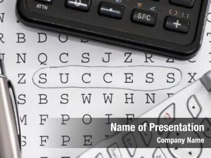 Word finding success puzzle applyng