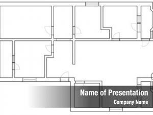 Plan cad floor house apartment