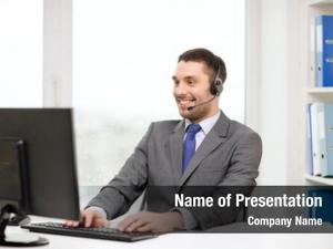 Technology business, communication, call center