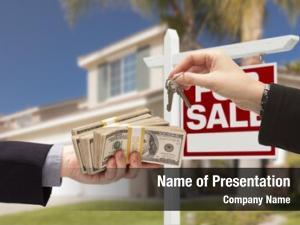 Over agent handing keys buyer