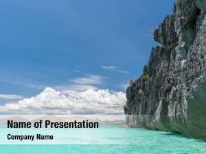 Island view coron beach, philippines