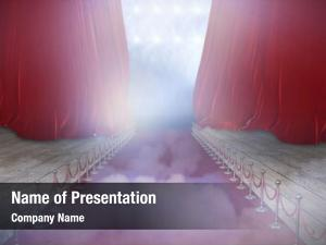 Carpet illustrative red event against
