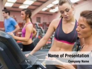 Instructor female gym woman gym