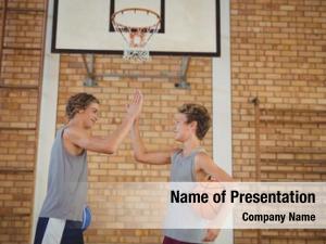 Boys high school basketball giving