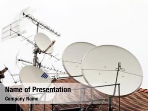 Receive satellite antenna different