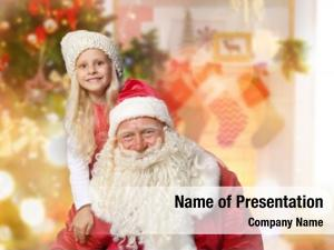 Claus authentic santa little boy