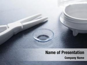 Tweezers contact lens